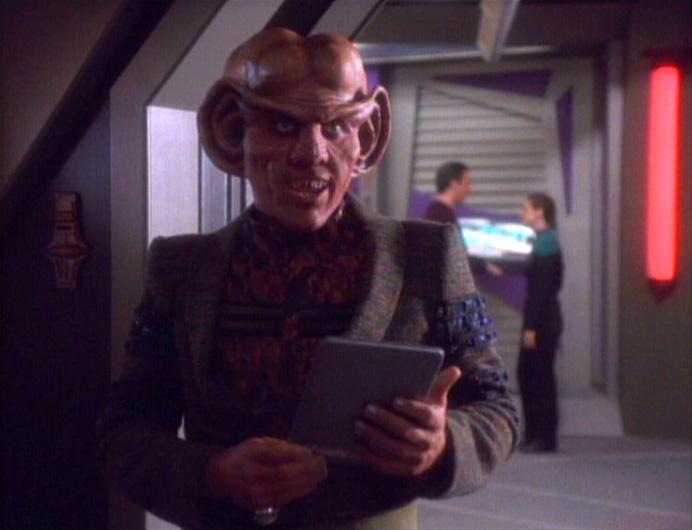 1x04 A Man Alone Trekcore Star Trek Ds9 Screencap