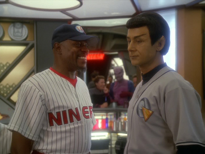 DS9 Caption Contest 100: He's the Gorram Sisko! | The Trek BBS