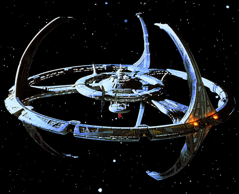the new ds9 space station - photo #4