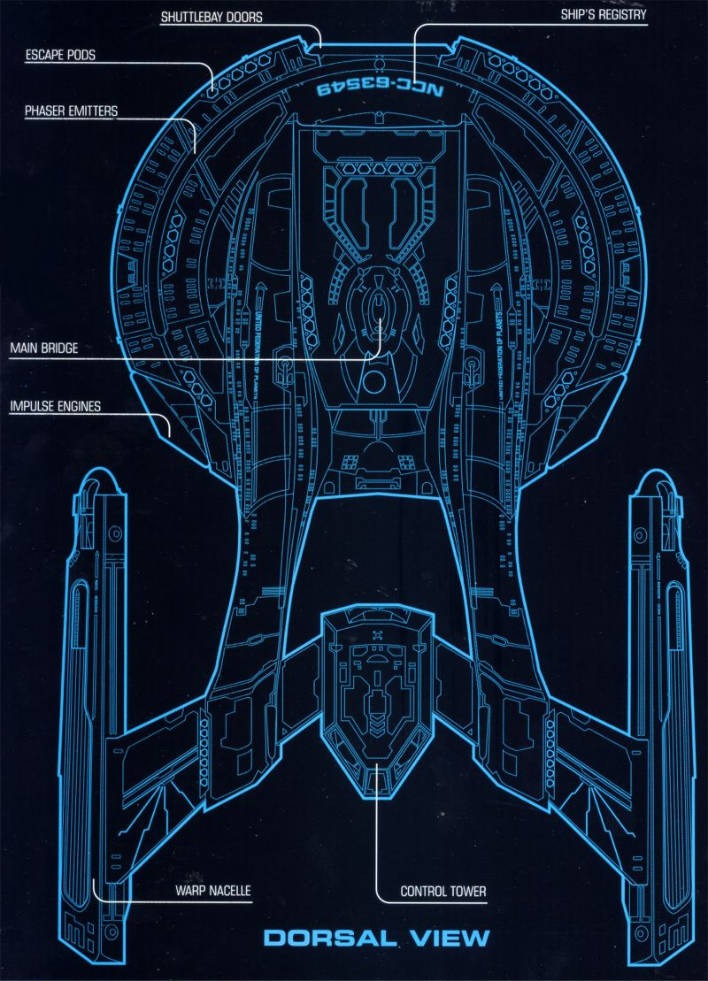 Schematics Trekcore Star Trek Ds9 Screencap Image Gallery Engineering Akira Dorsal
